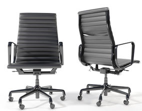 Eames Aluminum Group Executive Chair 3D model