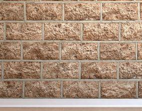 Stone cladding Stone 032 3D model