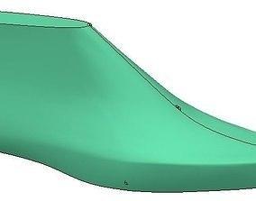 3D print model woman shoe last