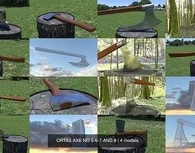 ORTAS AXE NO 5-6-7 AND 8 3D model