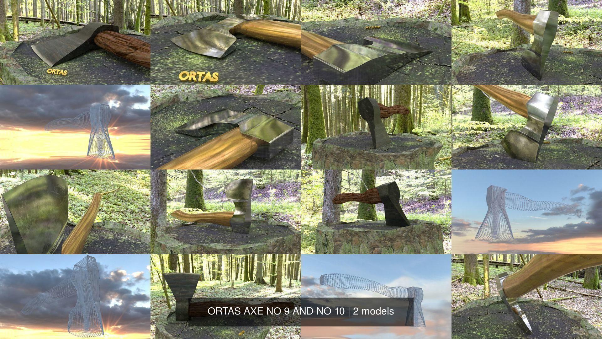 ORTAS AXE NO 9 AND NO 10