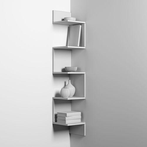 corner rack 3d model max fbx 1