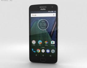Motorola Moto G5 Plus Lunar Grey 3D model mobile