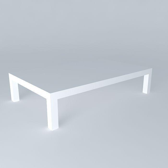 Surprising Coffee Table White Portofino Houses Of The World 3D Model Creativecarmelina Interior Chair Design Creativecarmelinacom