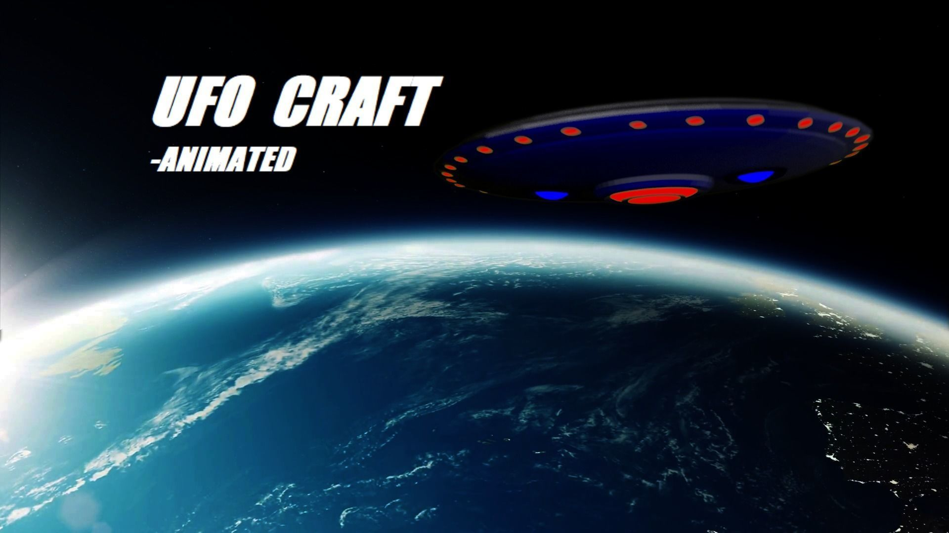 UFO Spacecraft Animated | 3D model