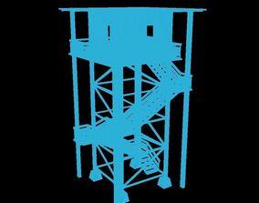 3D model realtime Tower crane
