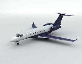 3D model Embraer Legacy 500 Aircraft