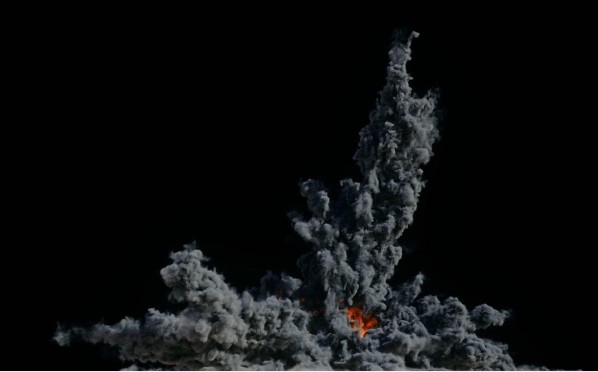 Houdini Grain Advection super fast Explosion