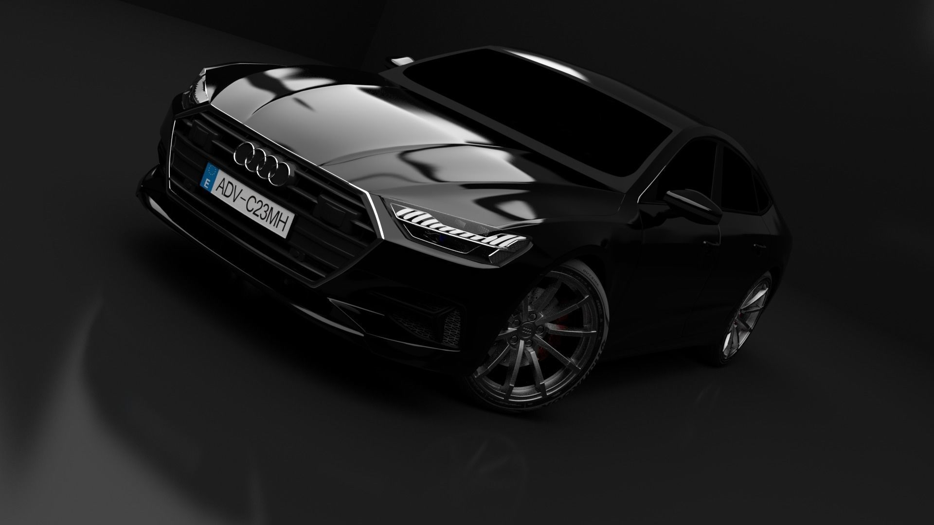 Audi A7 2018 | 3D model