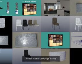Modern Interior furniture 3D
