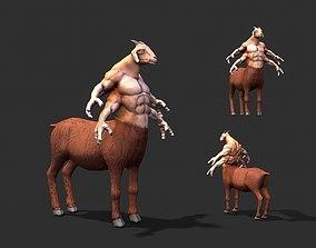 Warrior goat mythical 3D asset