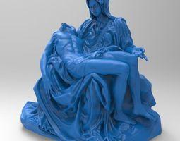 3D printable model Pietta Da vinchi Sculptur