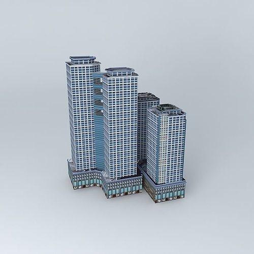 time square 3d model max obj mtl 3ds fbx stl dae 1