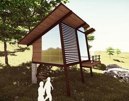 Tree Cottage 3D model