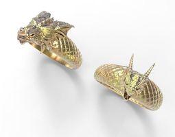 dragon ring 3d printable model