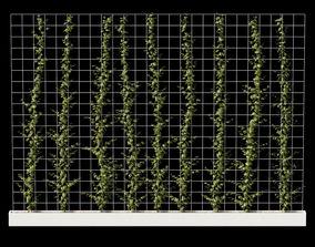 3D Vertical plant partition