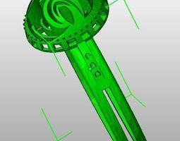future ring 3d printable model