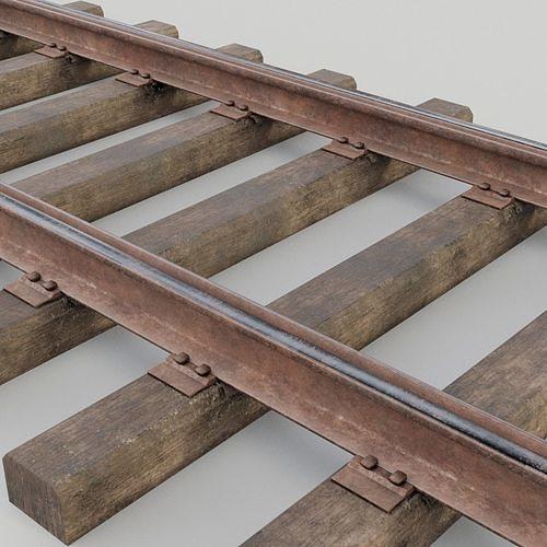 Railway track | 3D model