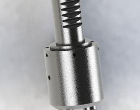double drill change equipment 3D model