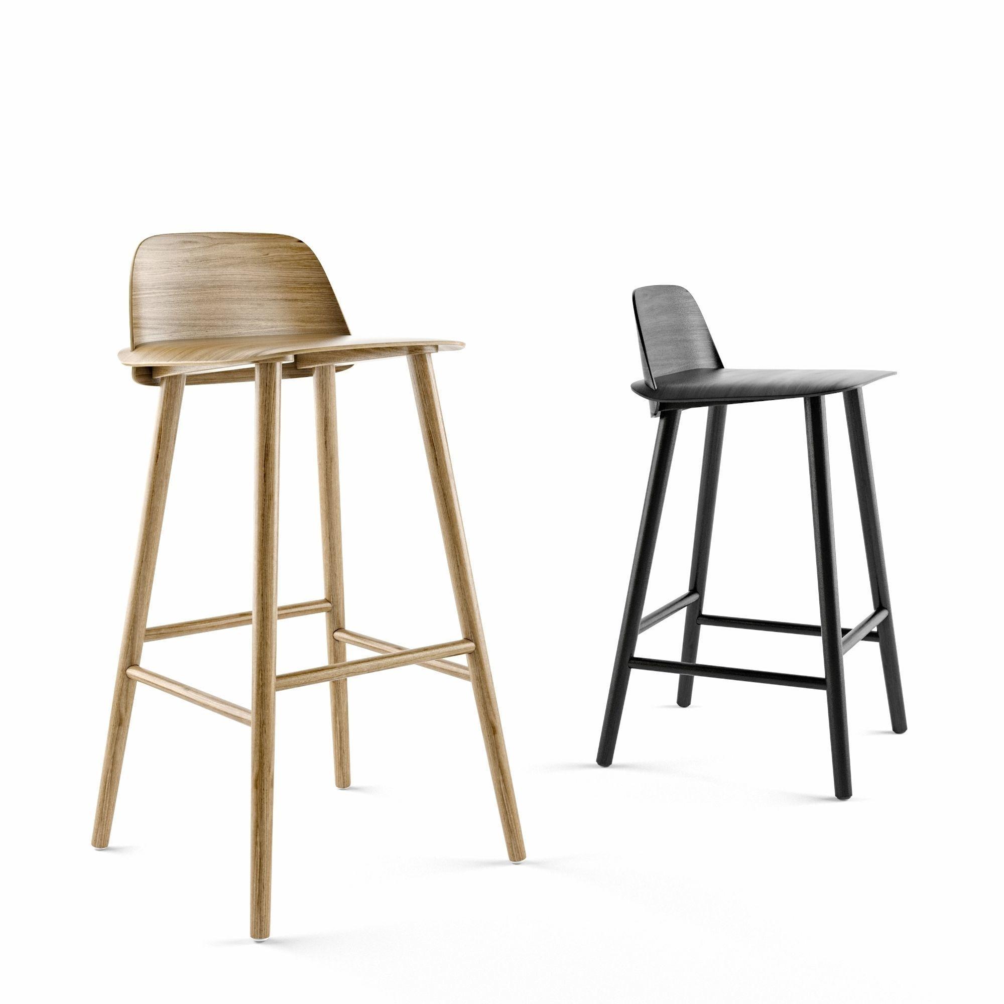 online retailer e8e7a b1095 MUUTO Nerd Counter stool and Bar Stool | 3D model
