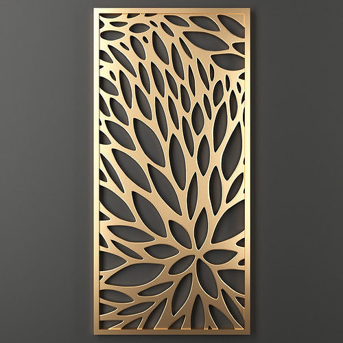 decorative panel 52 3d model max obj mtl fbx mat 1