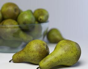 pear 3D model Pears