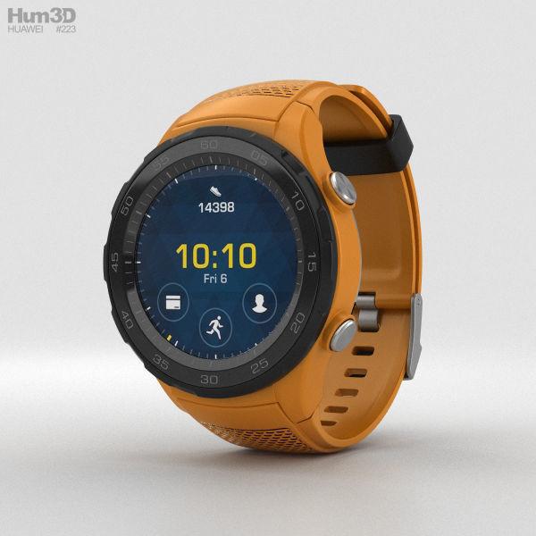 Huawei Watch 2 Dynamic Orange