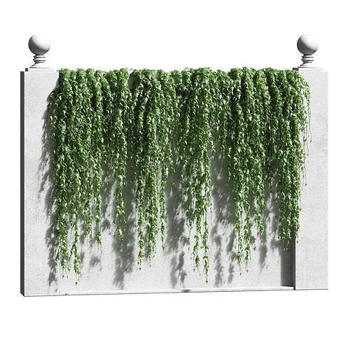 ivy for the fence 3d model max obj mtl fbx 1
