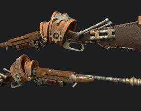 Steampunk Winchester 3D model