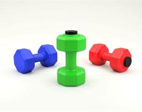 Dumbbell bottle 3D model