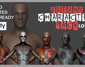 3D model Freaks Rigged Character Pack