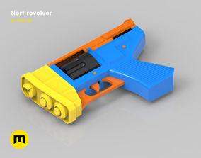Nerf revolver 3D printable model