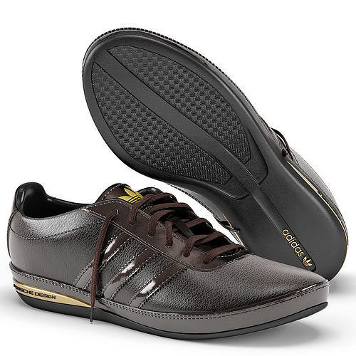 sports shoes df125 b7453 ... denmark adidas porsche design s3 brown 3d model max obj mtl 1 a7e1d  4c75c