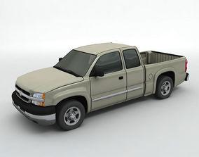 3D 2004 Chevy Silverado 1500 Pickup Truck