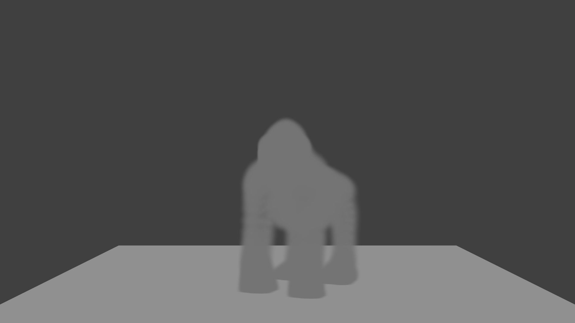 GORILLA MADE IN BLENDER | 3D model