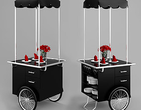 Trolley for distribution 3D