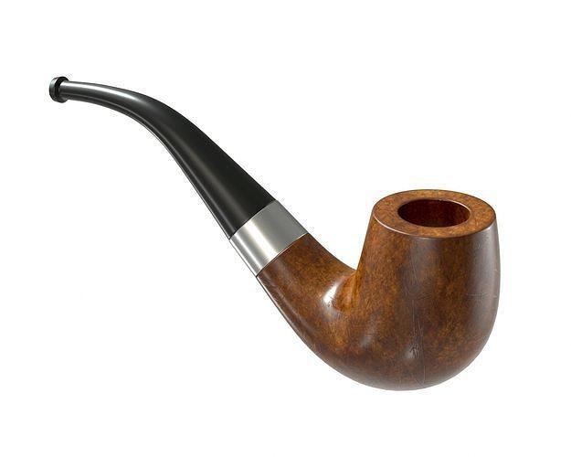 wood pipe 3d model max obj mtl fbx mdl 1