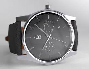 product 3D model Wristwatch