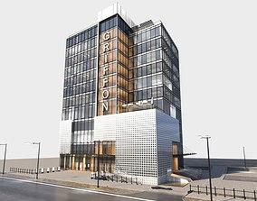 Office buildings Contemporary 3D