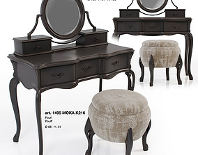 Giorgiocasa - Valpolicella - dressing table and pouf 3D