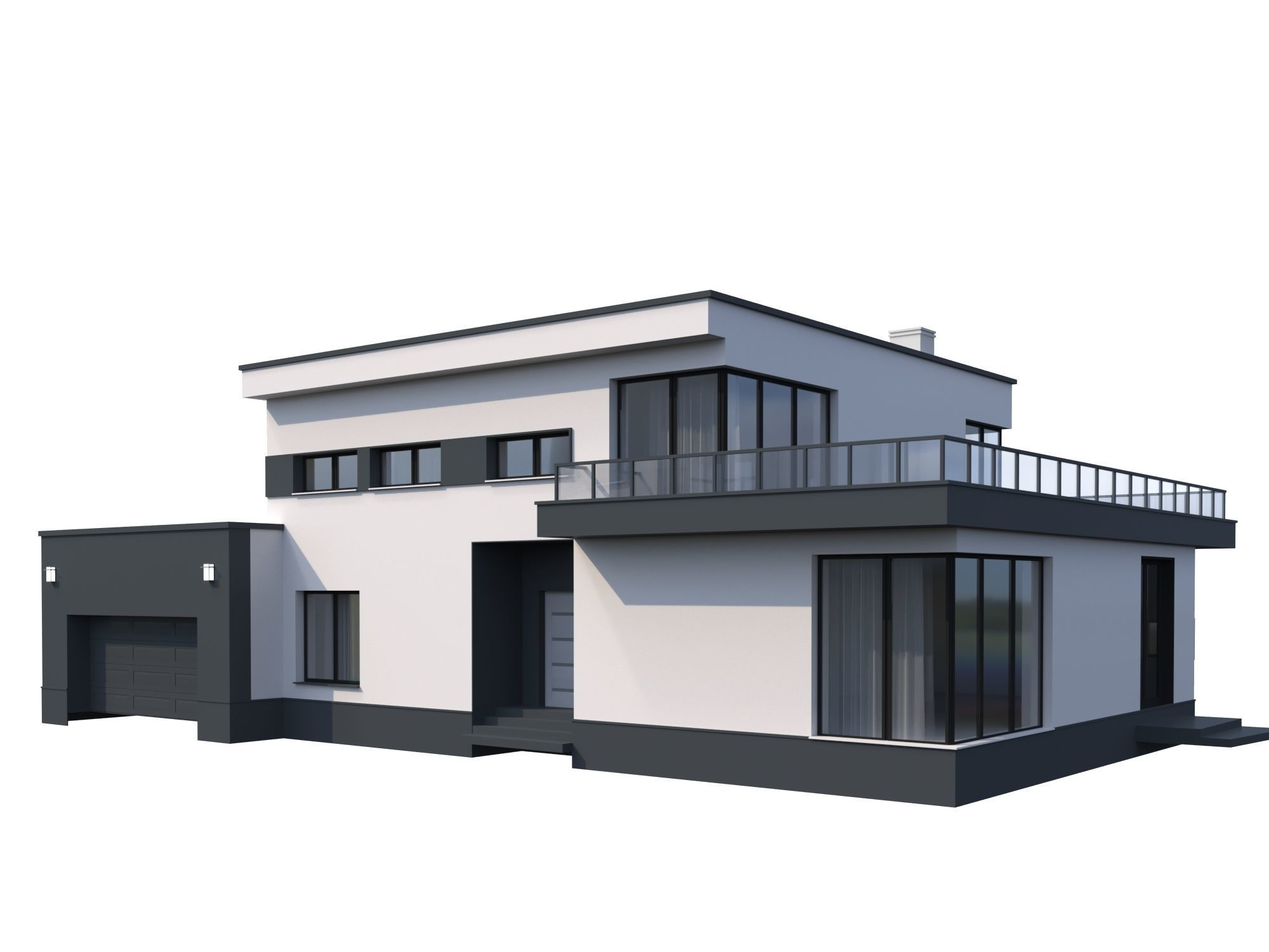 Modern House model Contemporary | 3D model