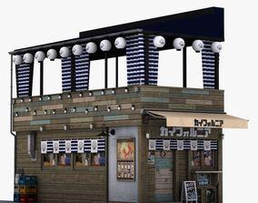 Kaifornia restaurant 3D model