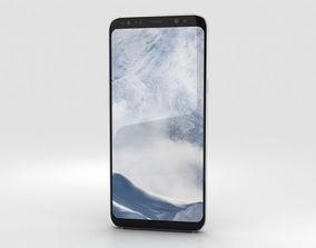 Samsung Galaxy S8 Plus Arctic Silver 3D