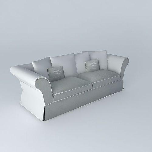 roma light gray sofa sets houses the world 3d model max obj mtl 3ds fbx stl dae 1