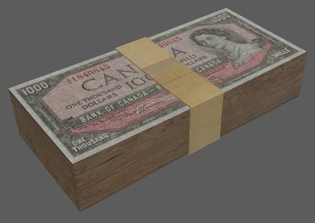 Money Stack 1000s