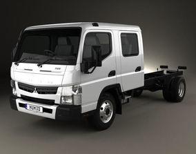 3D model Mitsubishi Fuso Canter 815 Wide Crew Cab 2