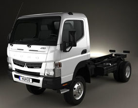 Mitsubishi Fuso Canter FG Wide Single Cab Chassis Truck 3D