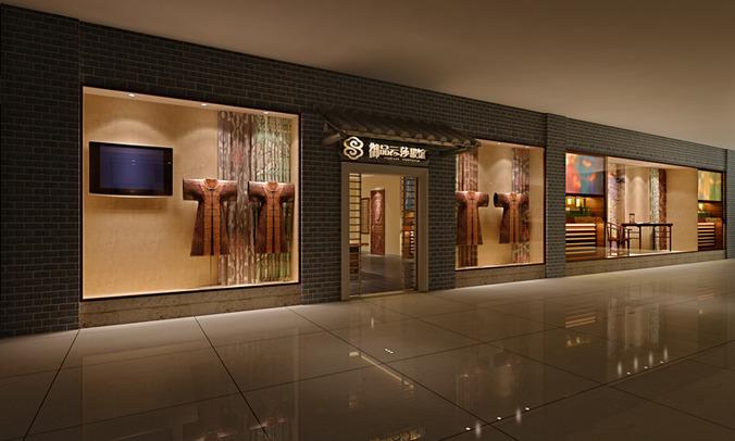 3d Model Shop Boutique Interior Cgtrader