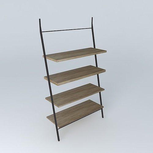 archibald shelf houses the world 3d model max obj 3ds fbx stl dae 1