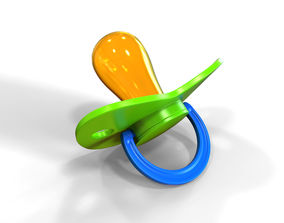 3D model Pacifier children